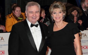 National Television Awards 2019 Red Carpet Arrivals London O2 Greenwich Pictured: Eamonn Holmes,Ruth Langsford Ref: SPL5057201 220119 NON-EXCLUSIVE Picture by: Grant Buchanan / SplashNews.com Splash News and Pictures Los Angeles: 310-821-2666 New York: 212-619-2666 London: 0207 644 7656 Milan: 02 4399 8577 photodesk@splashnews.com World Rights