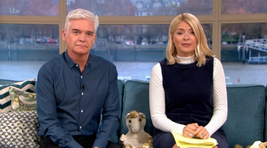 Phillip Schofield apologises for asking This Morning guest 'very personal question' on air