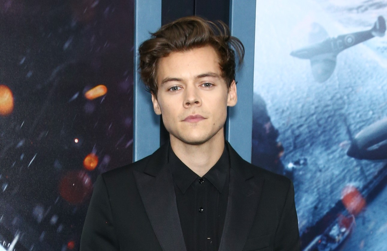 Harry Styles attends the US Premiere of Dunkirk