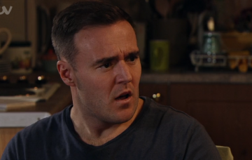 Tyrone devastated by Evelyn's confession Corrie Credit: ITV