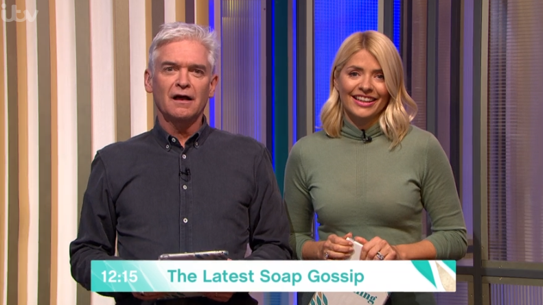 Phillip Schofield shocked by Holly Willoughby's hilarious slip-up