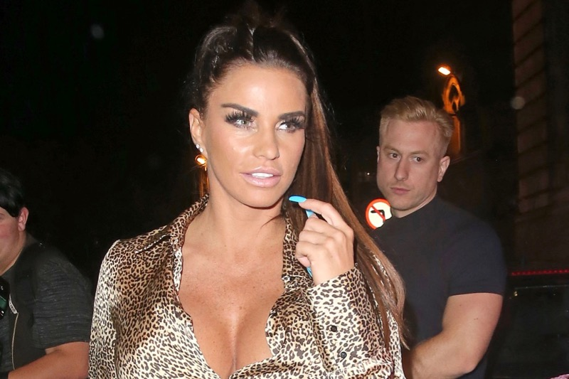 Katie Price gets ANOTHER 'parking ticket' after party