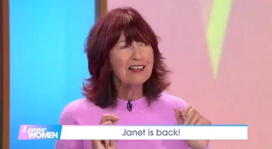 Janet Street Porter announces new job as she returns to Loose Women