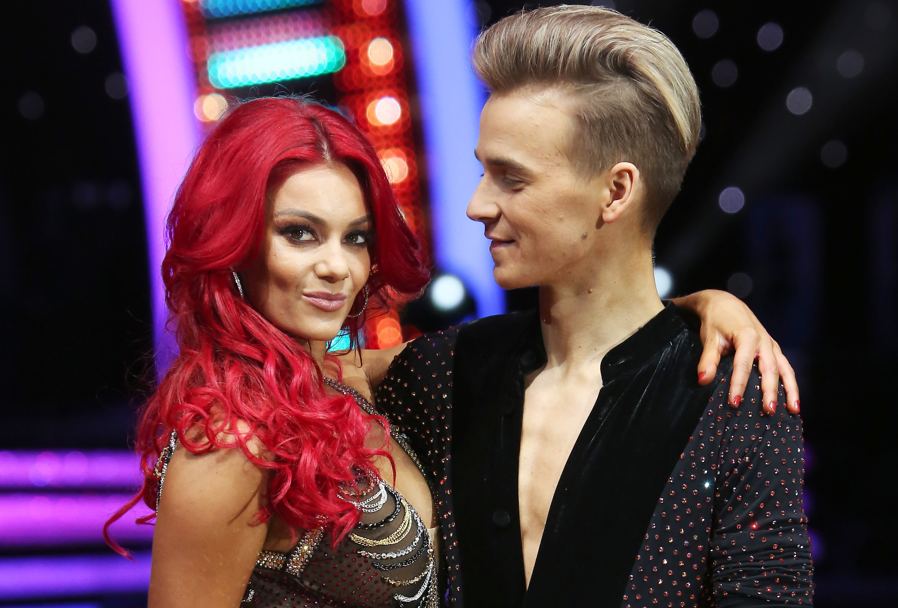 Strictly couple Dianne Buswell and Joe Sugg 'fall out with co-stars' during tour