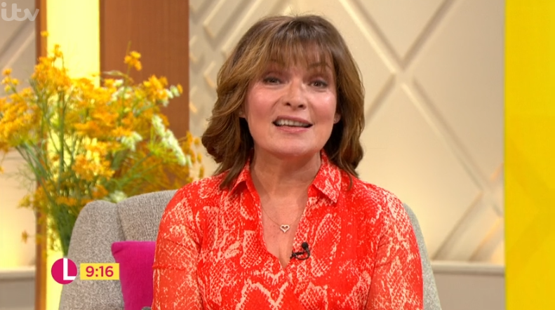 Lorraine interview turns awkward as she admits spanking guest's bottom