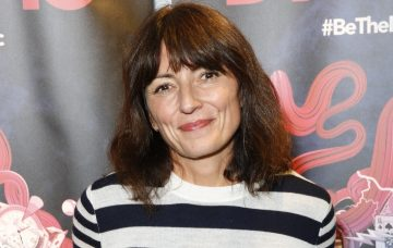 Davina McCall attends the launch of the magician Dynamo's new book, 'Dynamo: The Book of Secrets'