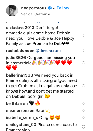 Emmerdale star Ned Porteous dashes fans hopes for Joe Tate