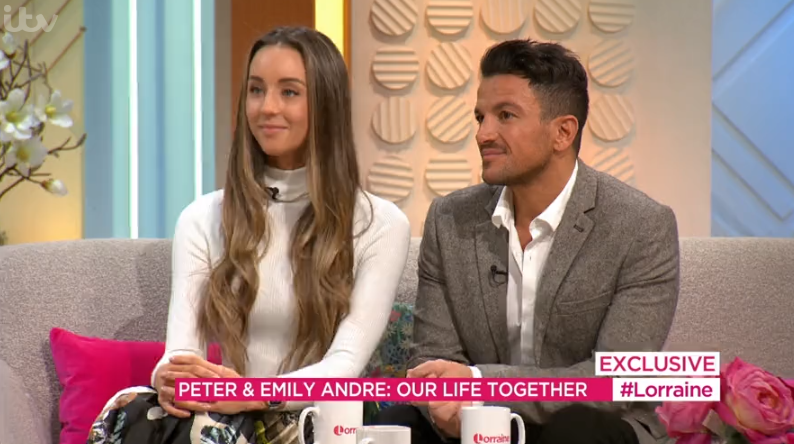 Peter Andre's wife Emily describes her relationship with Katie Price's children