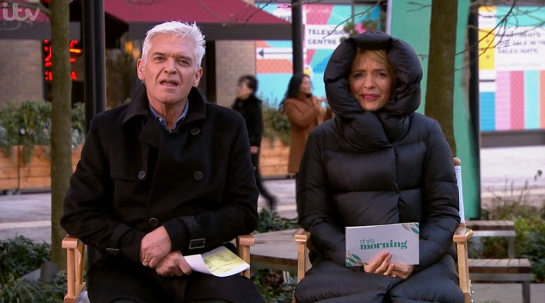 Phillip Schofield and Holly Willoughby apologise for chaos on This Morning