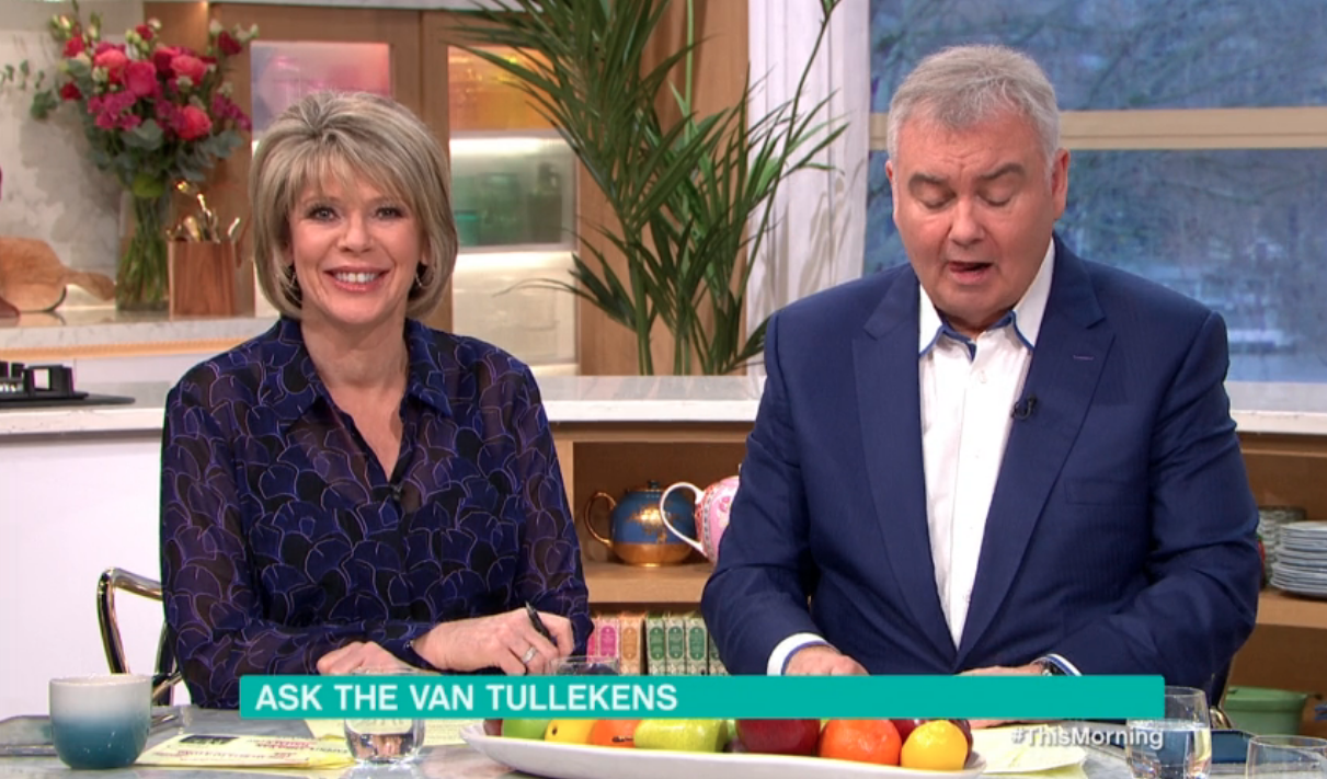 This Morning viewers can't believe their ears as guest seems to swear at Eamonn