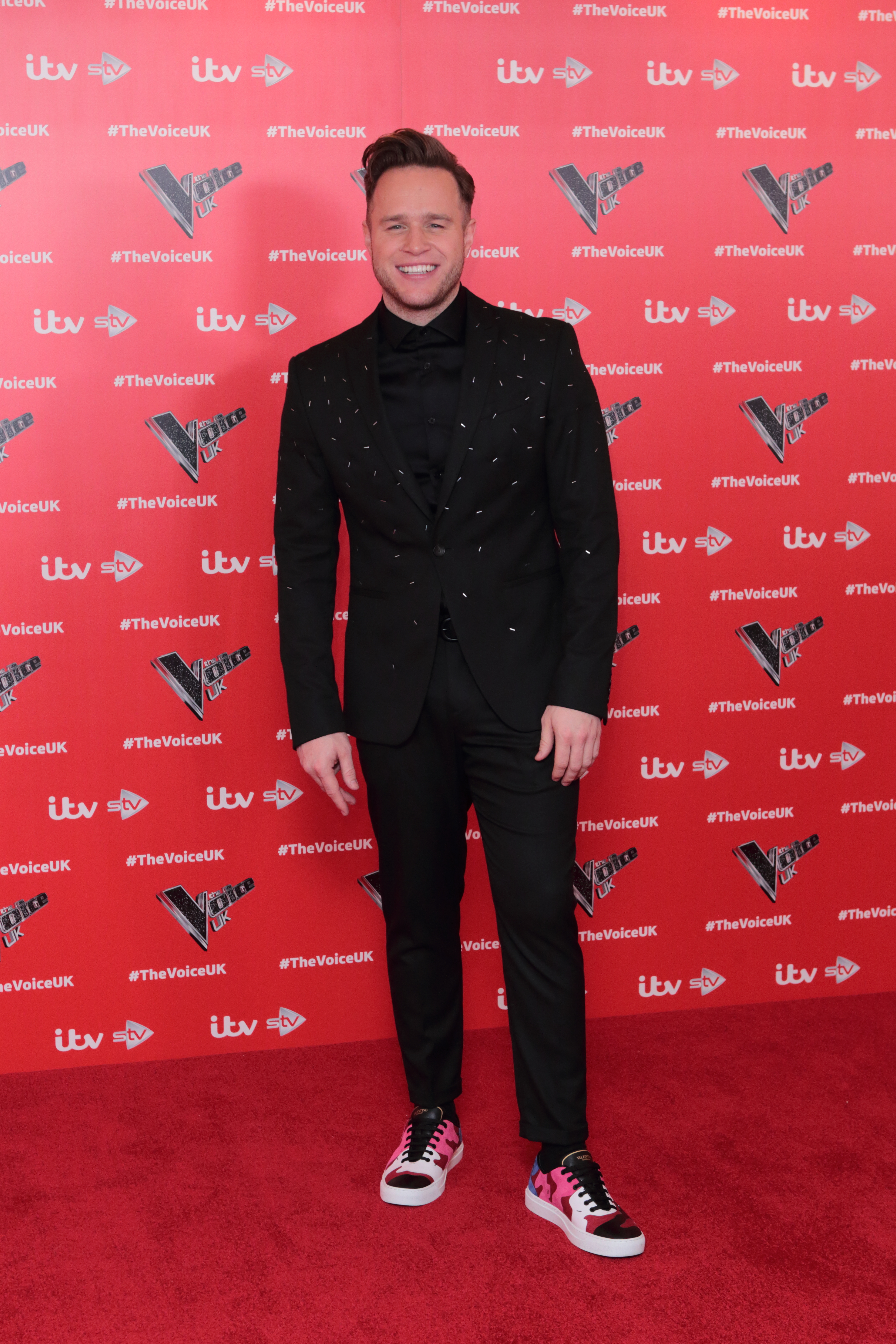 Olly Murs at 'The Voice' 2019 Photocall