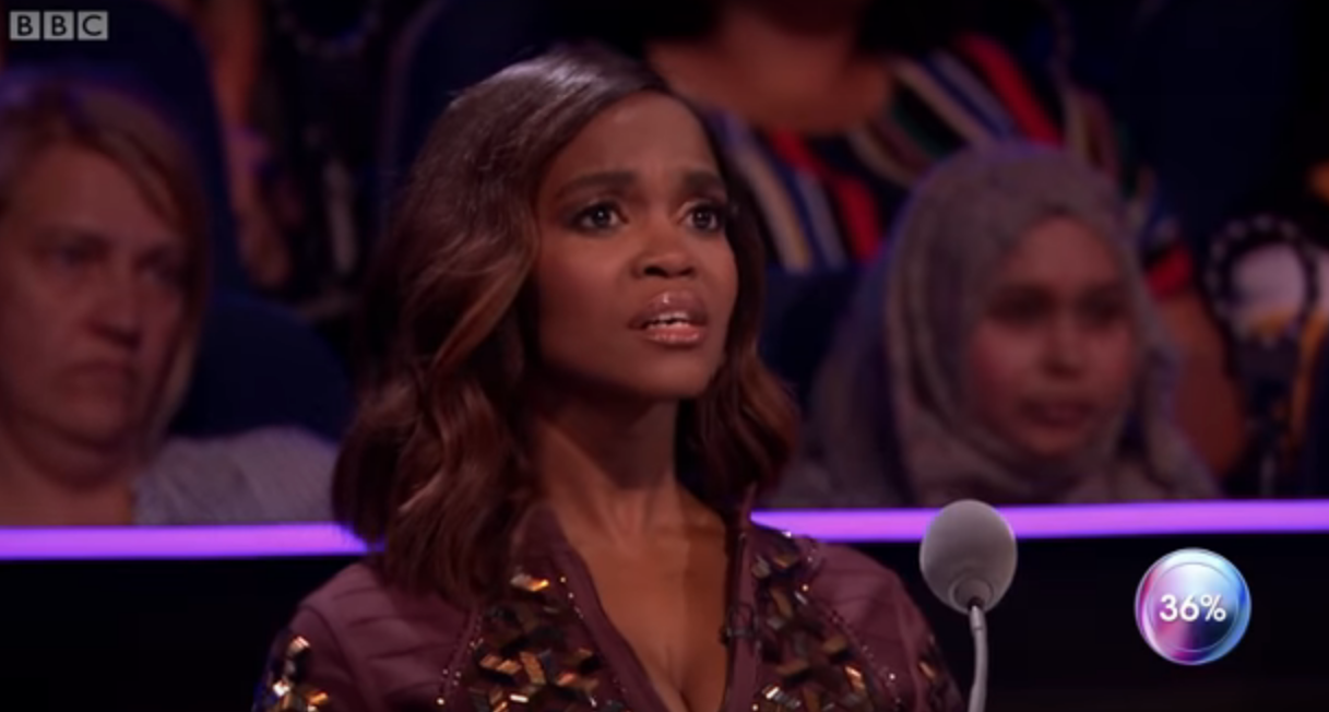 Oti Mabuse says there's 'nothing there' between her and Strictly partner Kelvin Fletcher