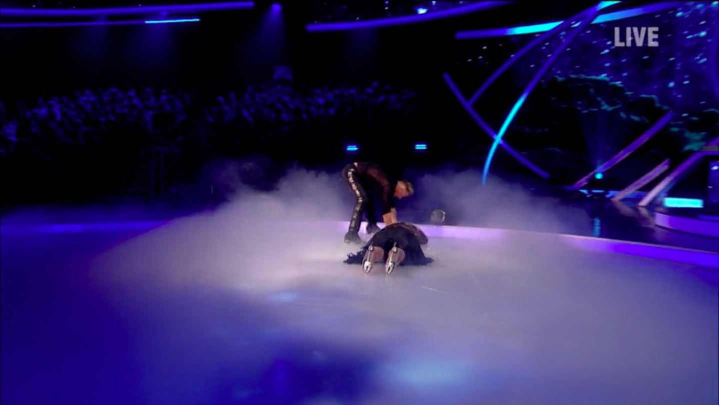 Dancing On Ice branded a fix as Gemma Collins survives