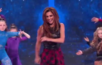 Cheryl on The Greatest Dancer (Credit: BBC)