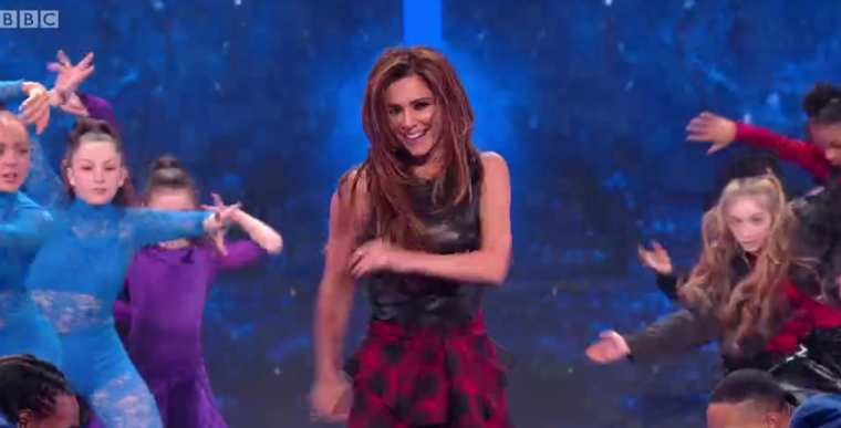Cheryl accused of being out of time in Greatest Dancer routine
