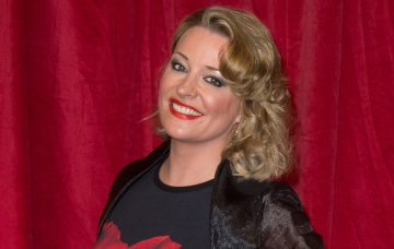 Laurie Brett at The British Soap Awards in London