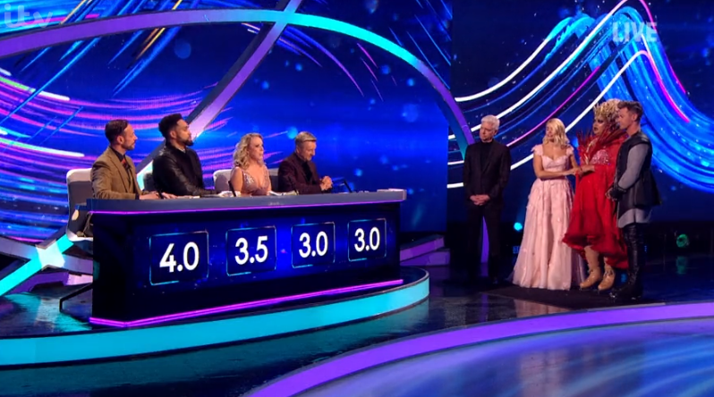 Gemma Collins on Dancing On Ice