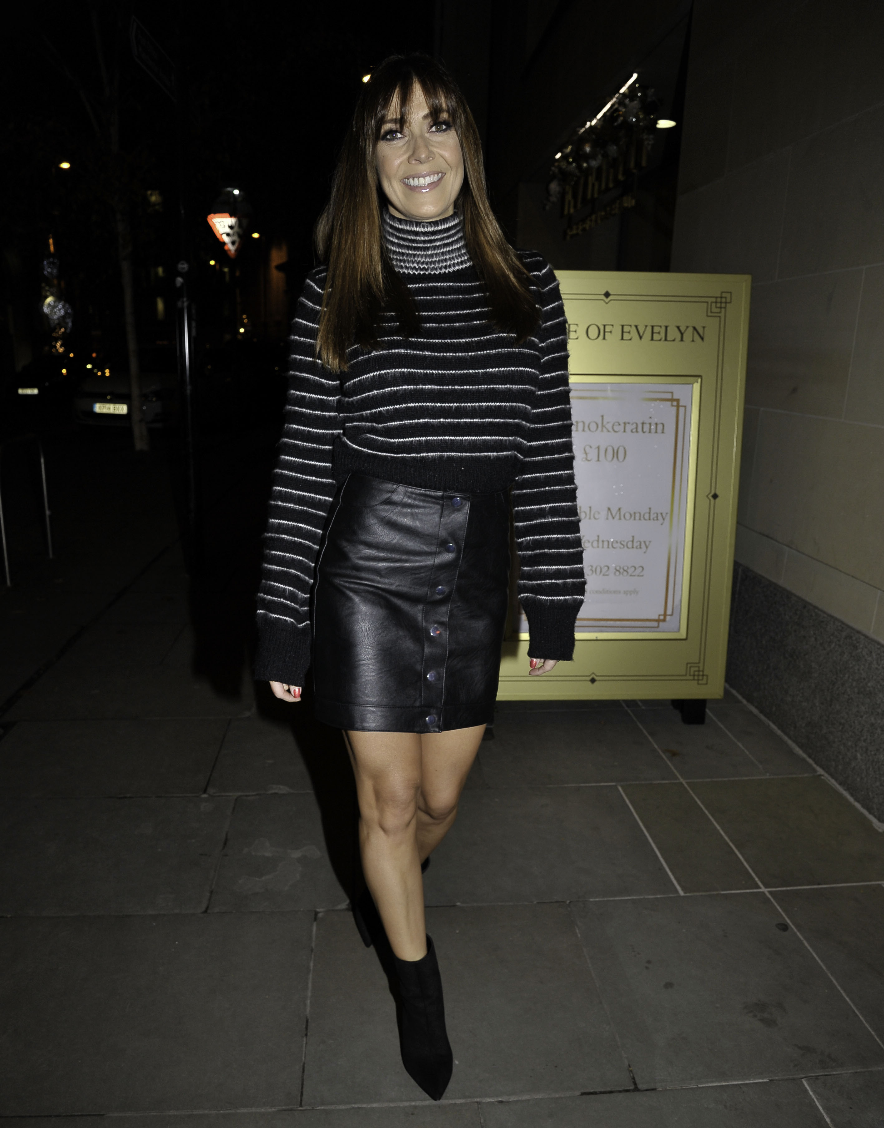 Kym Marsh At House Of Evelyn In Manchester