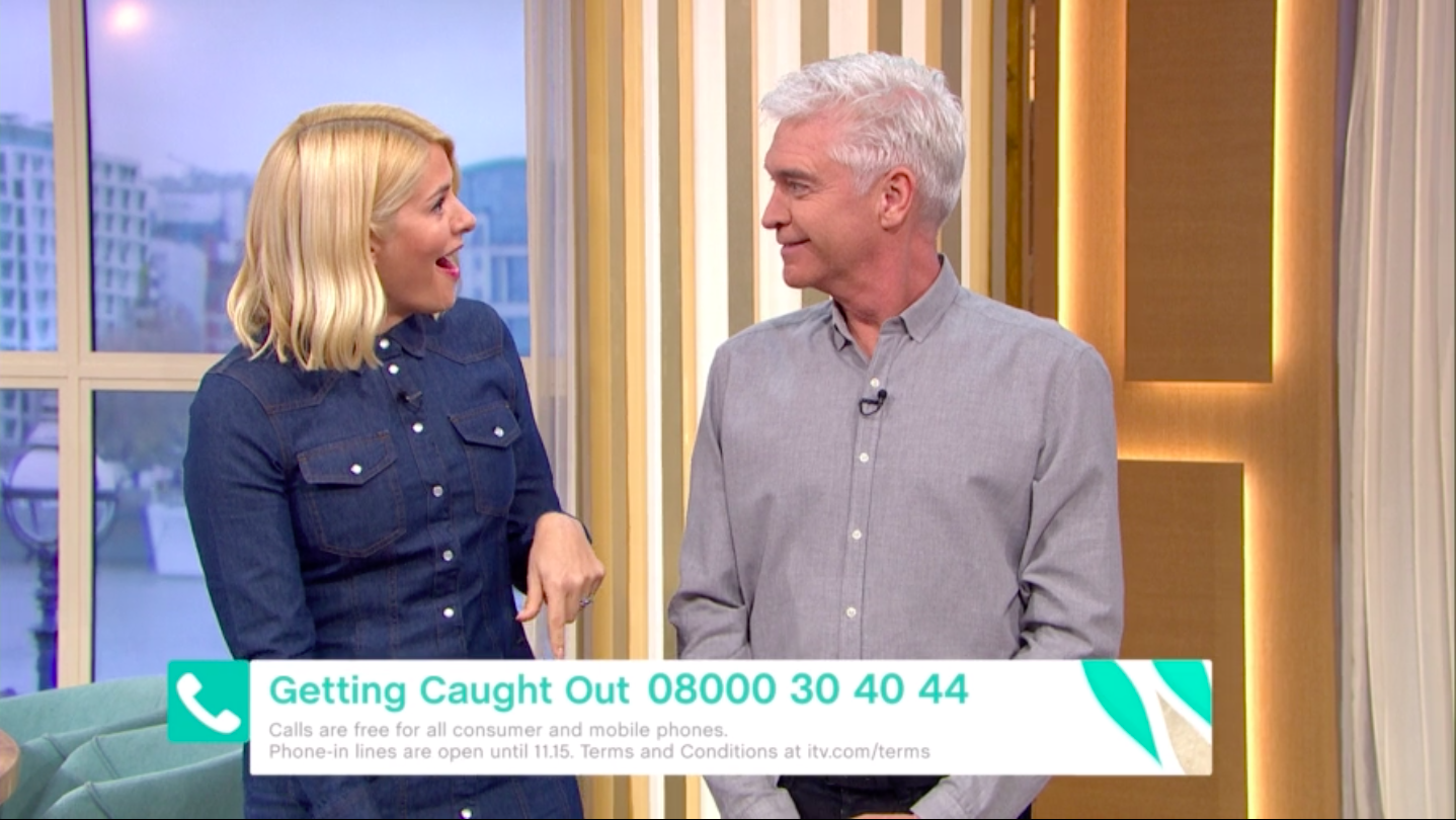 Holly Willoughby shocked by Phillip Schofield's LIE to This Morning bosses