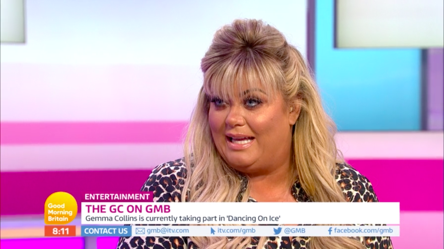 """Viewers tells Gemma Collins and Piers Morgan to """"get a room"""" after flirty TV appearance"""