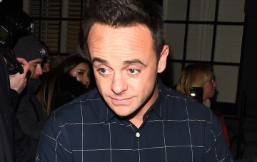 Ant McPartlin Leaves The Palladium Following More London Auditions