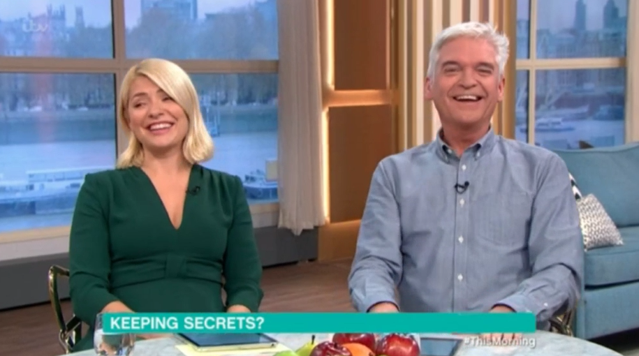 Holly and Phil left red-faced as Vanessa Feltz fakes orgasm live on This Morning