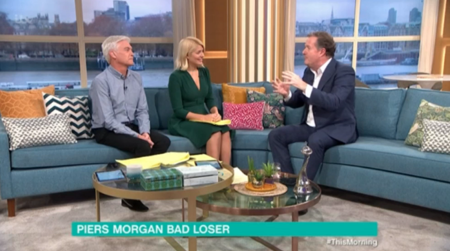 Piers Morgan reveals cheeky remark Phil Schofield said to him after This Morning beat GMB at NTAs