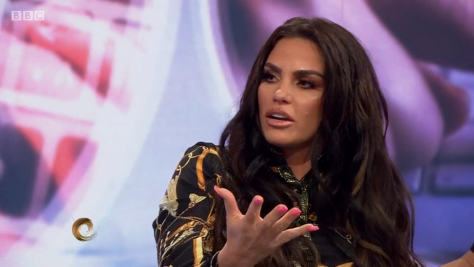 Katie Price hits back at trolls over Harvey care plan