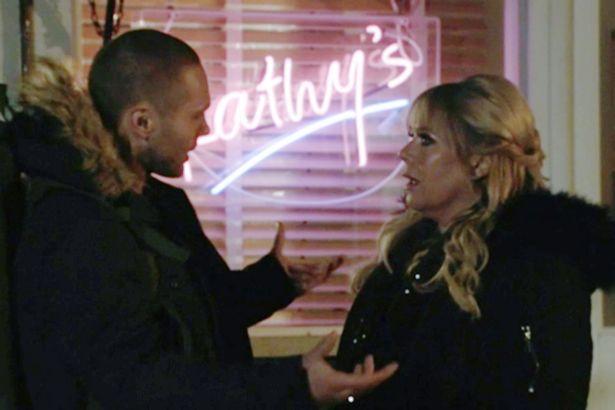 Keanu says goodbye to Sharon