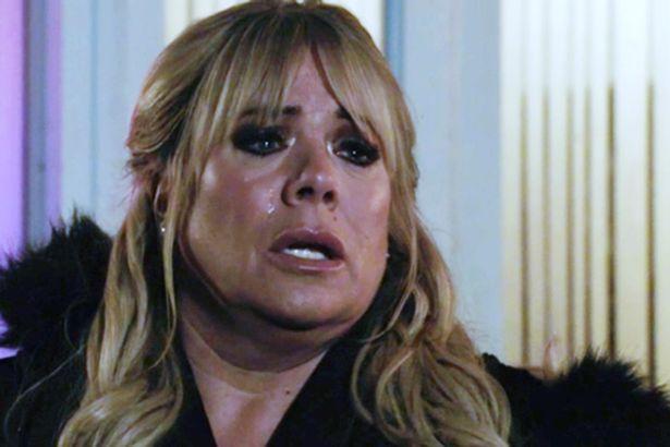 Sharon tears Eastenders