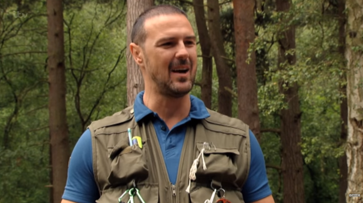 Paddy McGuinness on Corrie Credit: ITV/YouTube