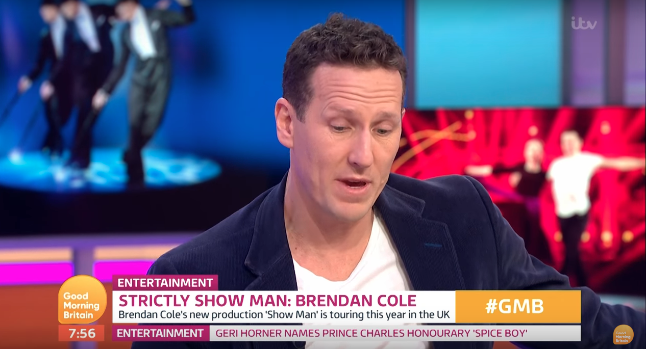 Ex Strictly pro Brendan Cole opens up about work worries