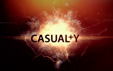 Casualty logo (Credit: iPlayer)