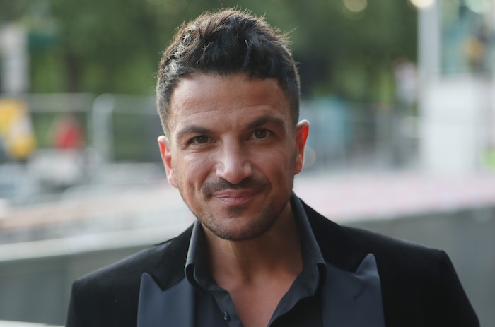 Fans hail parenting by Peter Andre and wife Emily as he shares cute family photo