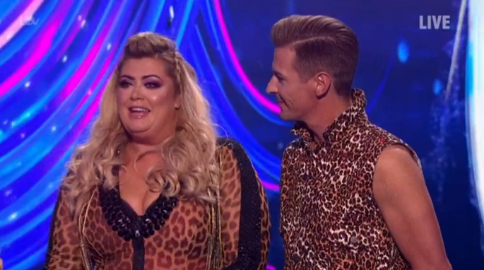 Gemma Collins eliminated from Dancing on Ice