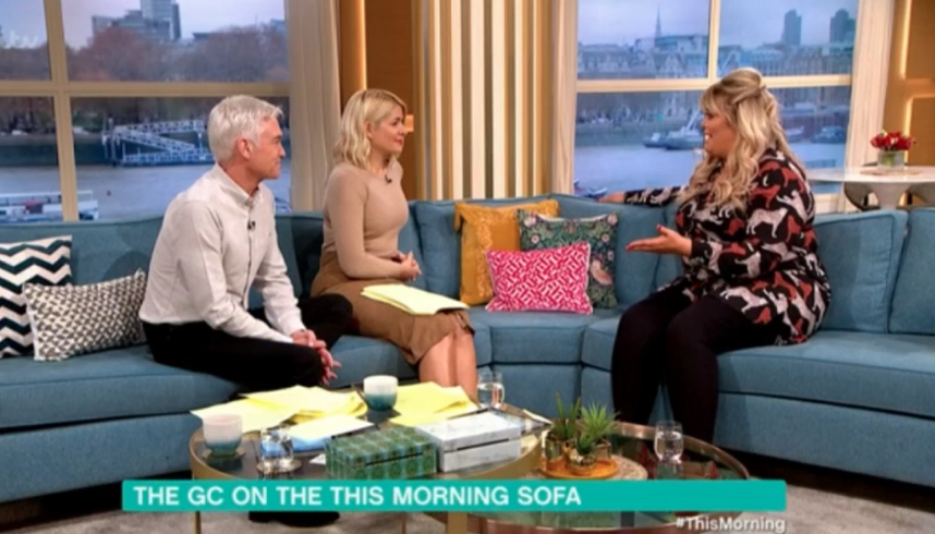 Gemma Collins on This Morning