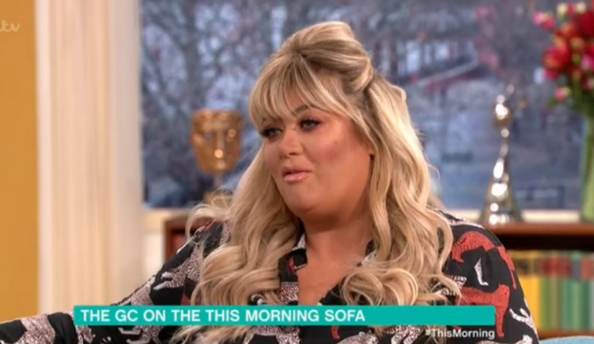 Gemma Collins reveals her knees will take six months to recover after DOI fall