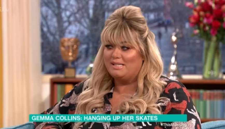 "Gemma Collins admits she ""regrets"" spat with Jason Gardiner on Dancing On Ice"