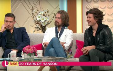 Hanson (Credit: Lorraine YouTube)
