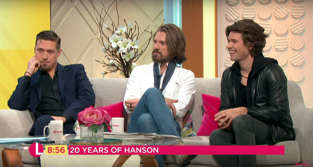 Handsome Hanson impress Lorraine Viewers with how they've transformed over the years