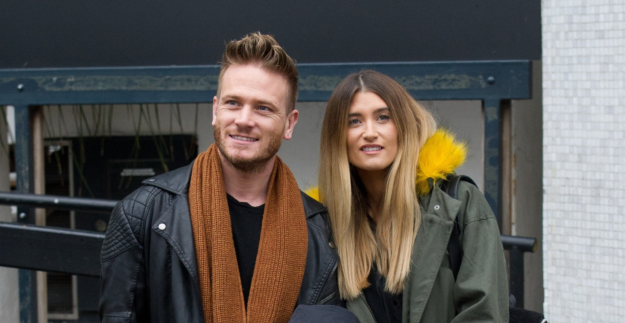 Emmerdale's Matthew Wolfenden thinks he and Charley Webb are expecting a boy