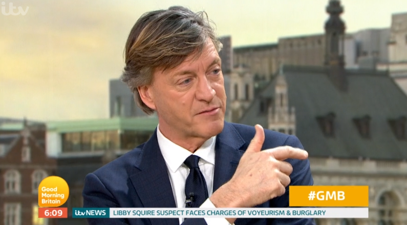Richard Madeley criticised for 'insensitive' question to Emiliano Sala pilot's wife