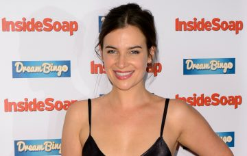 Camilla Arfwedson at the Inside Soap Awards 2016