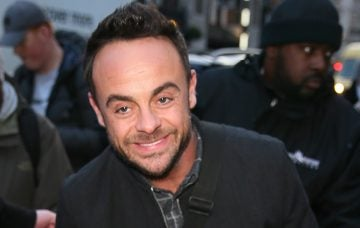 Ant McPartlin leaving the Prince Trust Awards at the London Palladium