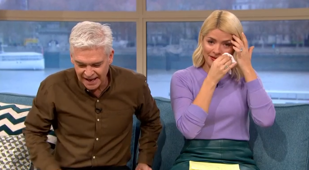 Holly Willoughby cries as This Morning gives blind boy special gift