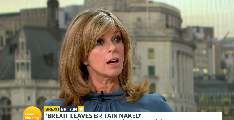 Kate Garraway clashes with naked guest on Good Morning Britain