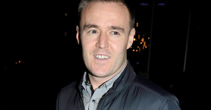 Celebrities Featured: Celebs arrive for the opening of The Ivy in Manchester, UK. Rhian Sugden outfit - Jumpsuit - ASOS - ?48 Shoes - Aldo Bag - Aldo Pictured: Alan Halsall Ref: SPL5044213 231118 NON-EXCLUSIVE Picture by: Aaron Parfitt / SplashNews.com Splash News and Pictures Los Angeles: 310-821-2666 New York: 212-619-2666 London: 0207 644 7656 Milan: 02 4399 8577 photodesk@splashnews.com World Rights