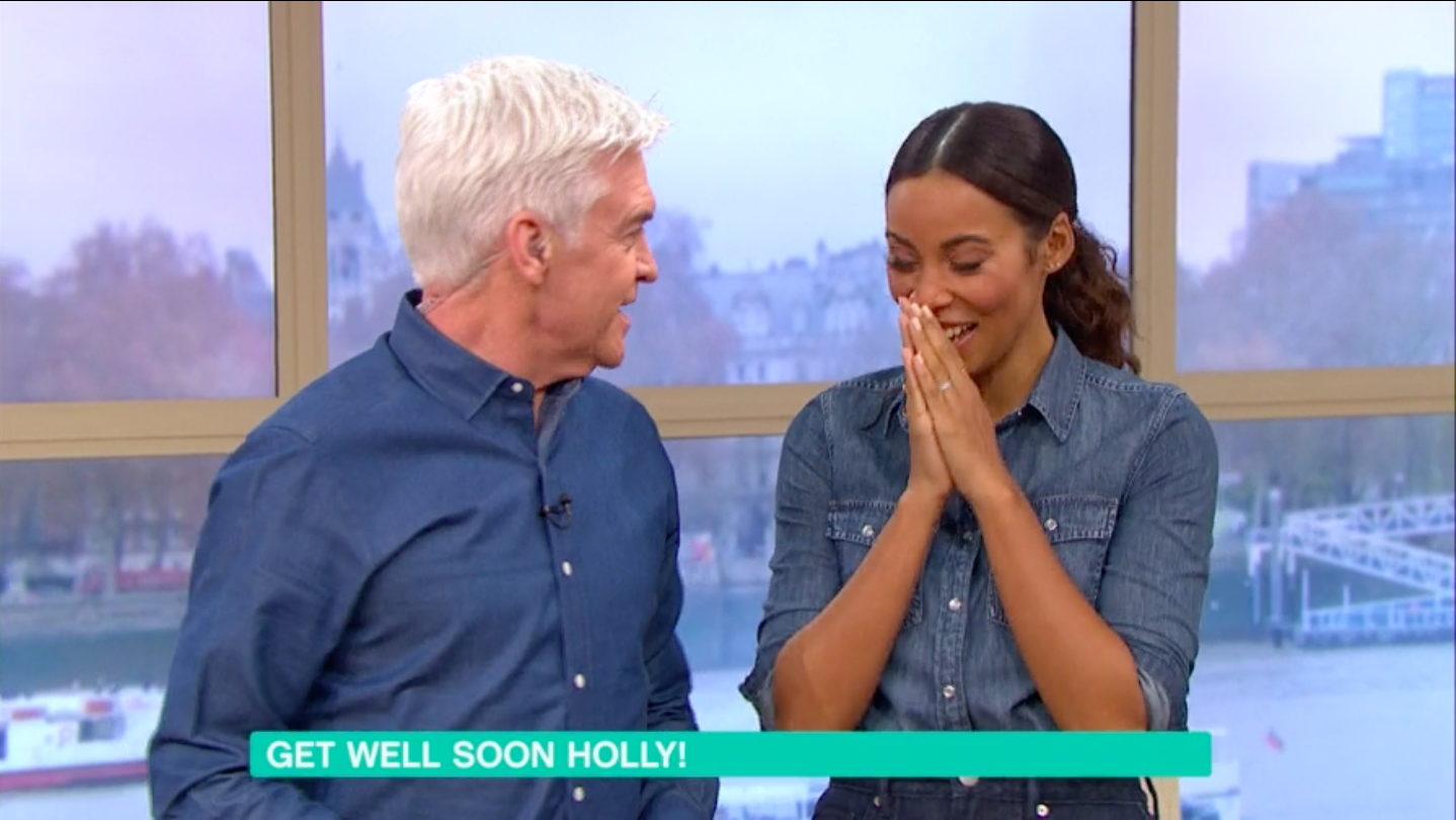 "This Morning descends into hysterics over Phillip Schofield's ""love sausage"""