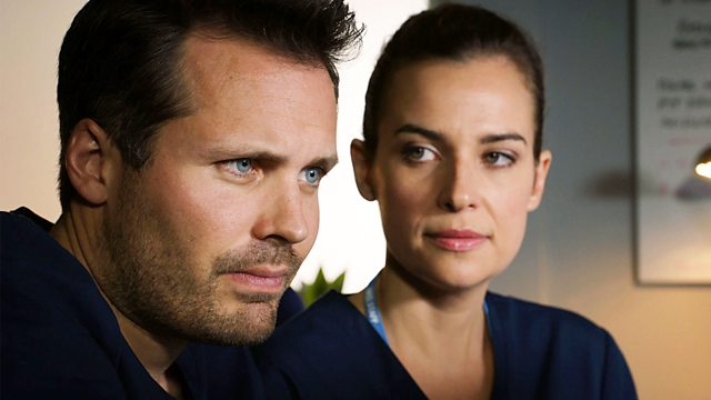 Holby City star Camilla Arfwedson gives fans hope for a Zosia and Ollie reunion