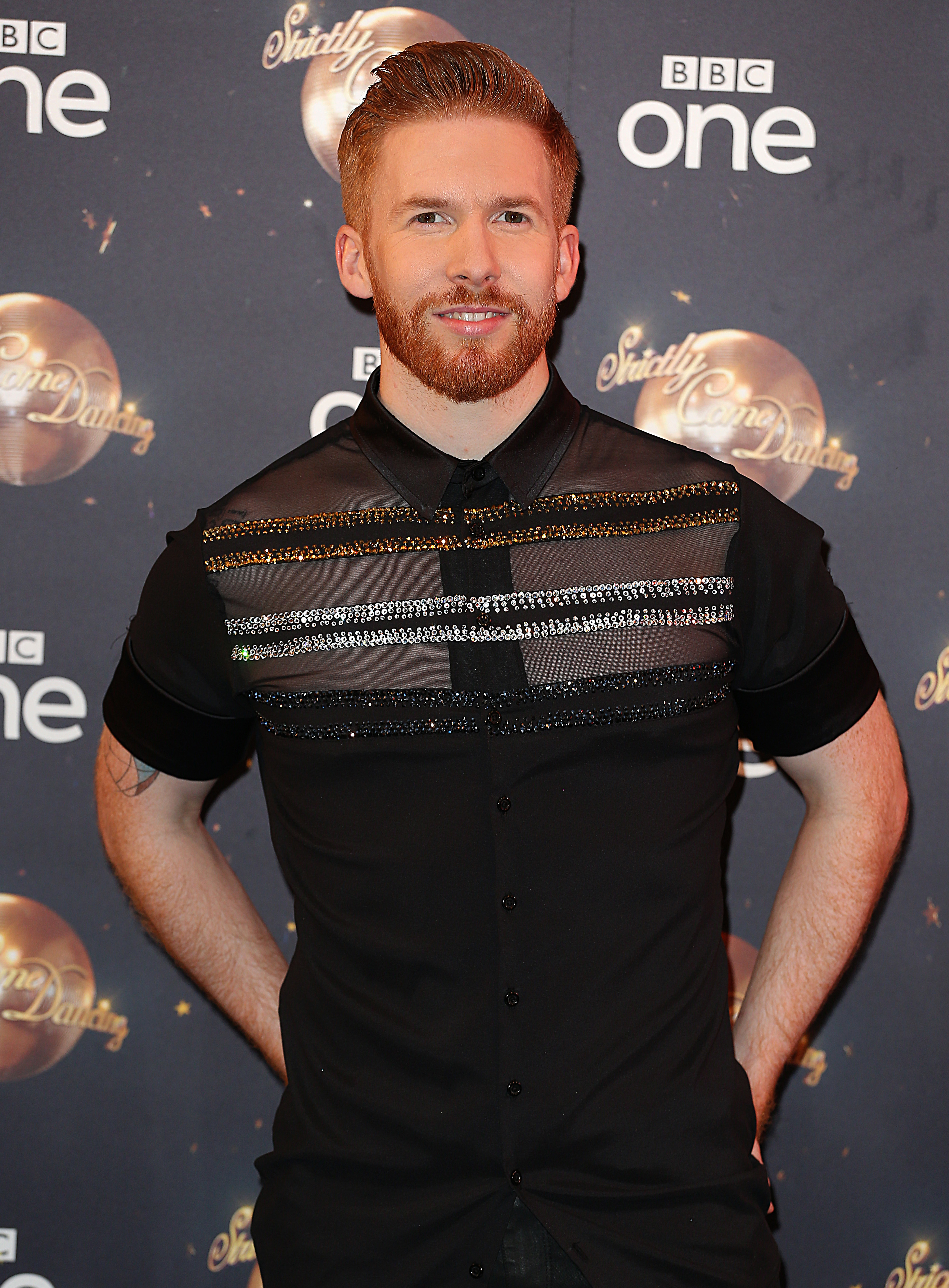 Neil Jones at the Strictly Come Dancing 2018 - Launch Show